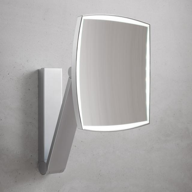 Keuco iLook_move beauty mirror, concealed power supply, LED lighting
