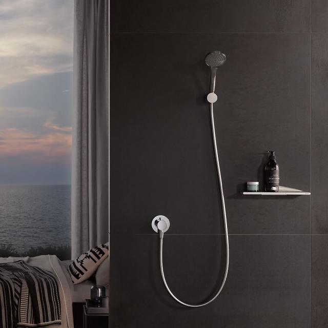 Keuco IXMO wall-mounted shower bracket chrome