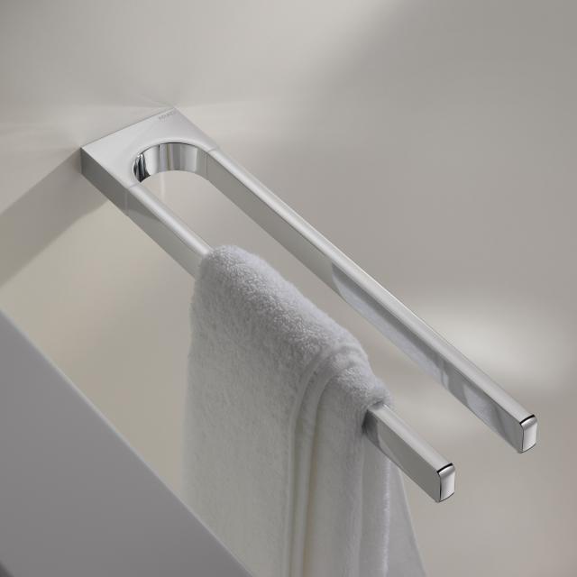 Keuco Moll fixed, double towel bar