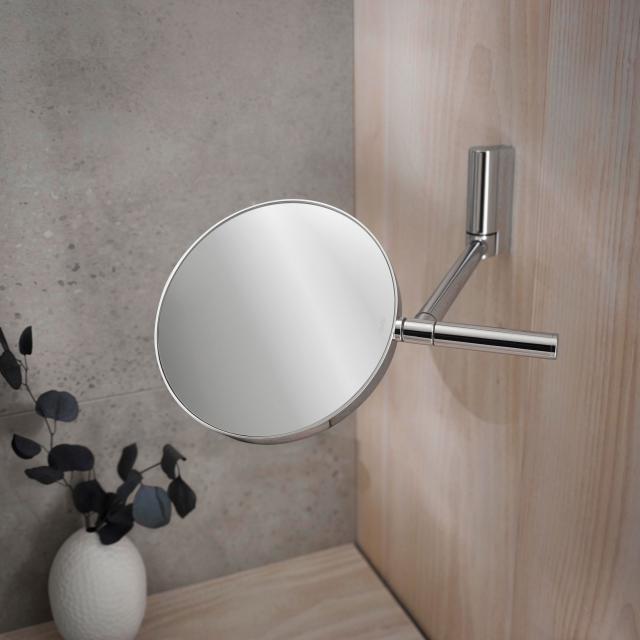 Keuco Plan beauty mirror chrome