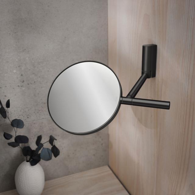 Keuco Plan beauty mirror matt black