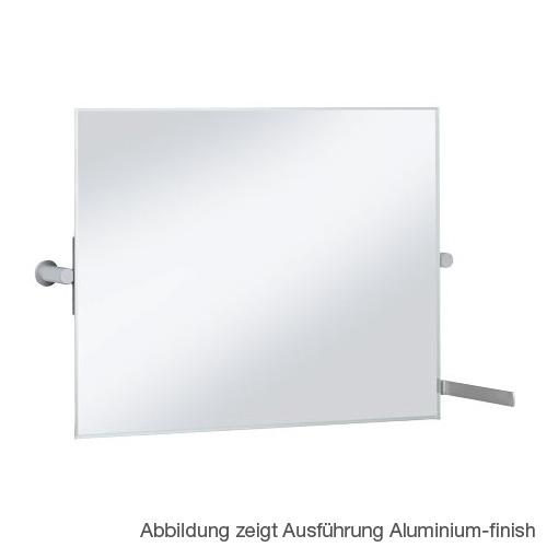 Keuco Plan Care mirror, tiltable chrome