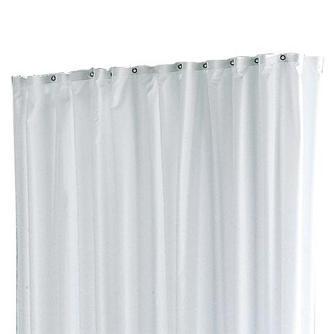 Keuco Plan Flame CS shower curtain off-white, 11 eyelets