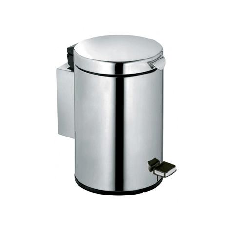 Keuco Plan sanitary waste bin chrome look