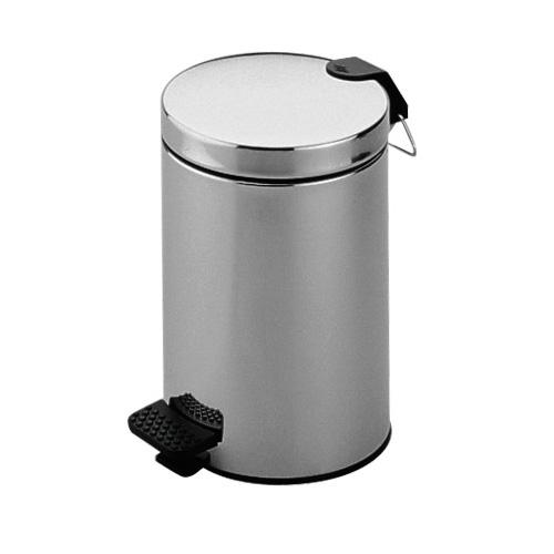 Keuco Plan waste bin chrome /black