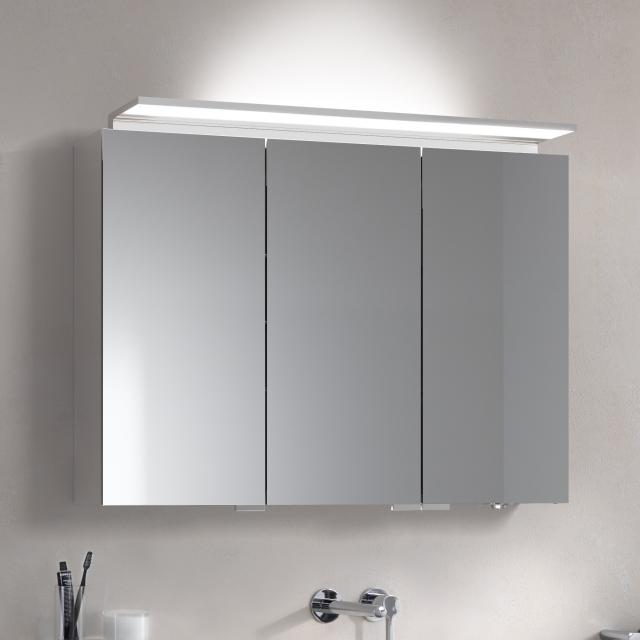 Keuco Royal L1 mounted mirror cabinet with 3 doors and 2 drawers