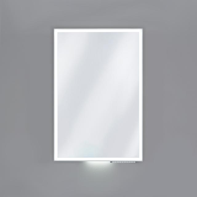 Keuco Royal Lumos mirror with DALI LED lighting silver anodised, without mirror heating