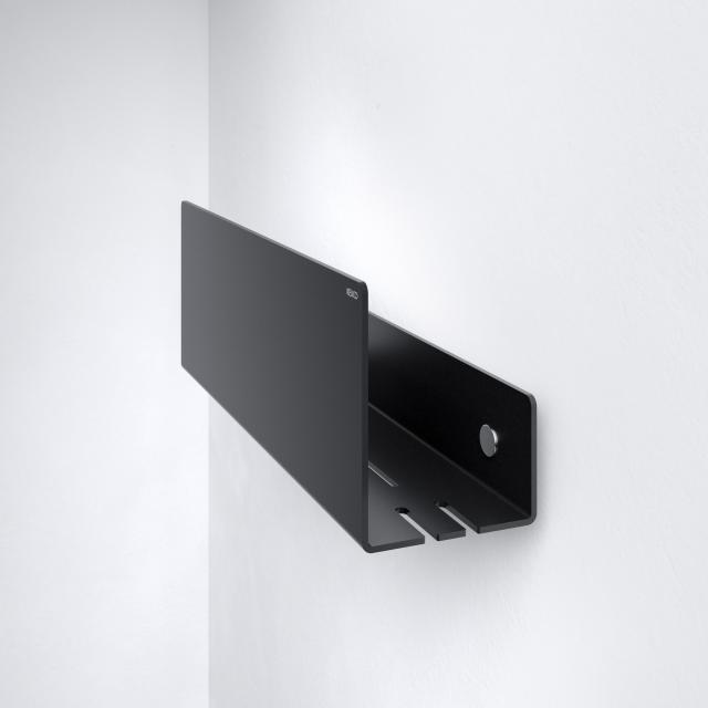 Keuco shelf for the shower black grey
