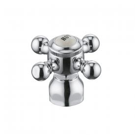 """Kludi 1926 handle with plate """"HOT"""" chrome"""