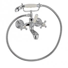 Kludi ADLON exposed bath and shower assembly chrome