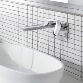 Kludi AMBA concealed, two hole, single lever basin mixer projection: 226 mm