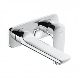 Kludi AMEO concealed, two hole, single lever basin mixer projection: 185 mm
