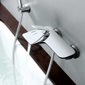 "Kludi BALANCE bath filler and single lever shower mixer 1/2"" chrome"