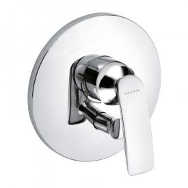 Kludi BALANCE concealed, single lever bath filler and shower mixer chrome
