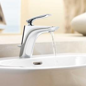 Kludi BALANCE single lever basin mixer with pop-up waste set, chrome