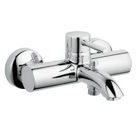 Kludi BOZZ exposed, single lever bath and shower mixer