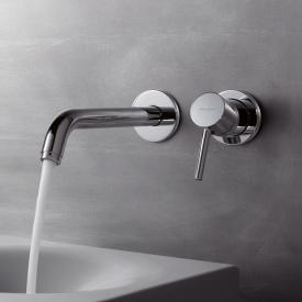 Kludi BOZZ wall-mounted, concealed basin fitting projection: 220 mm, chrome
