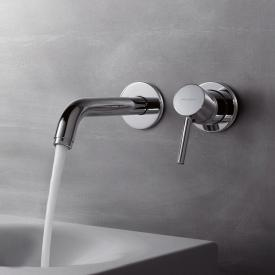 Kludi BOZZ wall-mounted, concealed basin fitting with concealed installation unit projection: 180 mm, chrome