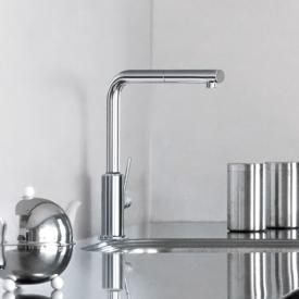 Kludi L-LINE S single lever kitchen mixer with swivel spout