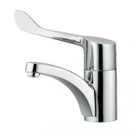 Kludi MEDI CARE single lever basin mixer, fixed spout, clinic lever without waste set
