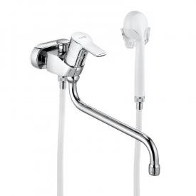 Kludi PURE&EASY single lever bath and shower mixer