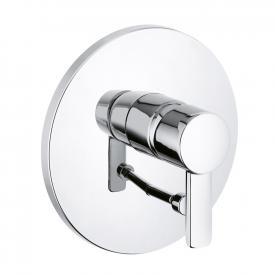 Kludi ZENTA concealed, single lever bath filler and shower mixer chrome