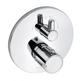 Kludi ZENTA concealed thermostatic fitting for 2 outlets