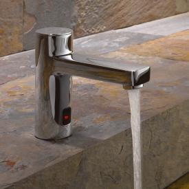 Kludi ZENTA Robinetterie de lavabo électronique avec limiteur de température sur secteur