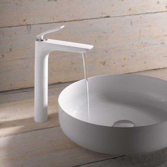 Kludi BALANCE basin fitting without waste set chrome/white