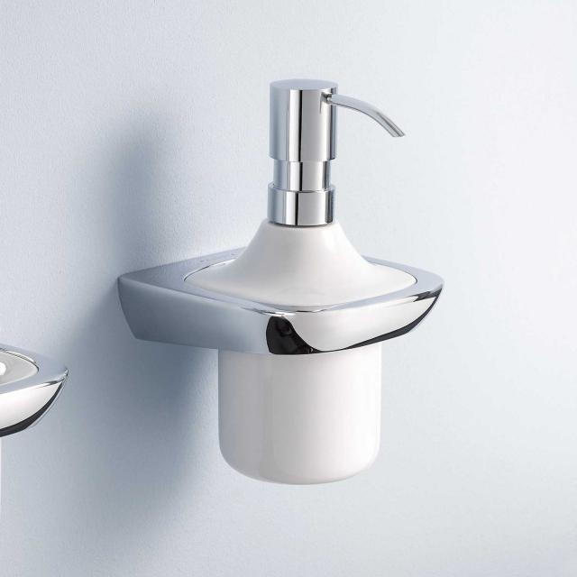 Kludi AMBA wall-mounted liquid soap dispenser