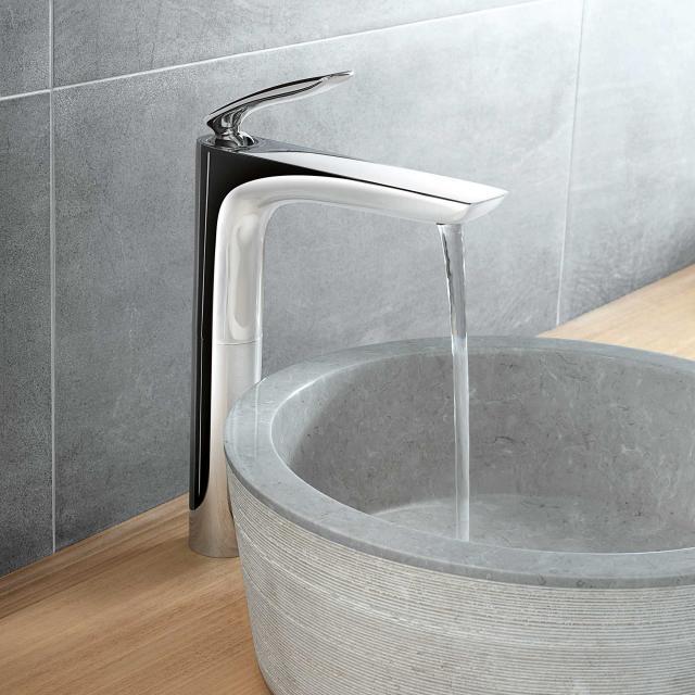 Kludi BALANCE basin fitting without waste set chrome