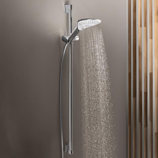 Kludi FIZZ 3S shower set with shower rail chrome