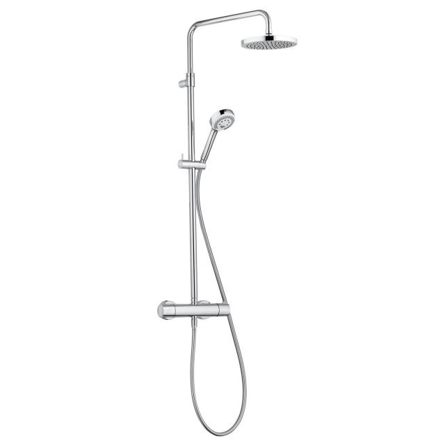 Kludi LOGO Thermostat Dual Shower System