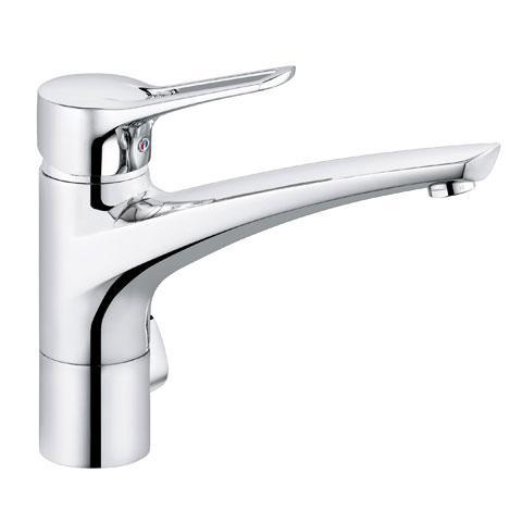 Kludi MX single lever kitchen fitting, DN 15 with utility valve chrome
