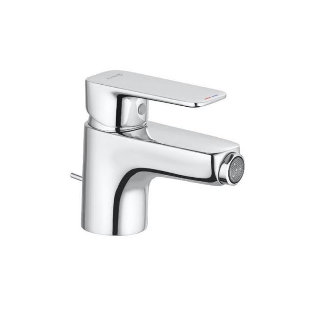 Kludi PURE&STYLE single lever bidet mixer with pop-up waste set