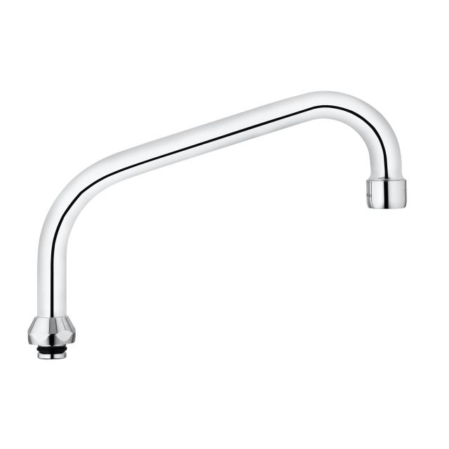 Kludi STANDARD HU tube spout, rotatable, projection 200 mm