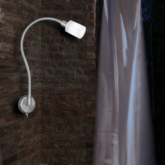 Knapstein wall light with dimmer