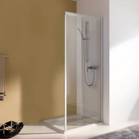 Koralle myDay Comfort partition for sliding door W TSG transparent / matt silver
