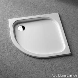 Koralle T200 quadrant shower tray