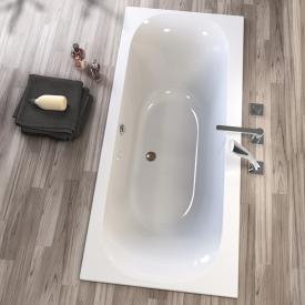 Koralle T300 rectangular bath with 2 slanted backrests