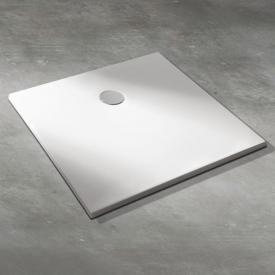 Koralle T400 rectangular shower tray white, with Gelcoat and Antislip