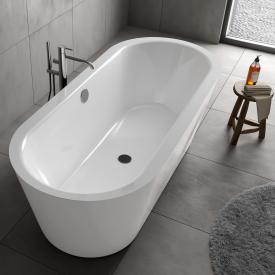 Koralle T700 freestanding oval bath white / white