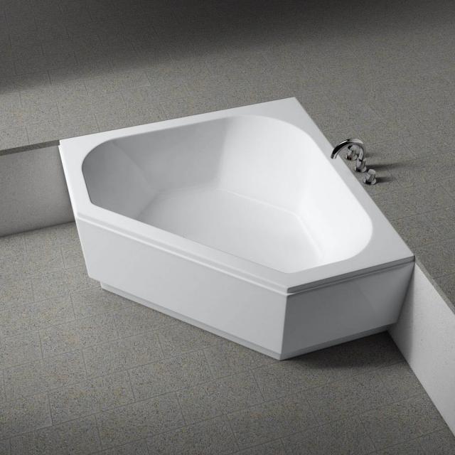 Koralle T200 corner bath, built-in