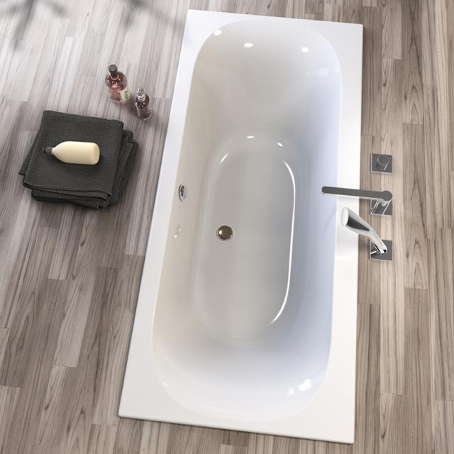 Koralle T300 rectangular bath, built-in