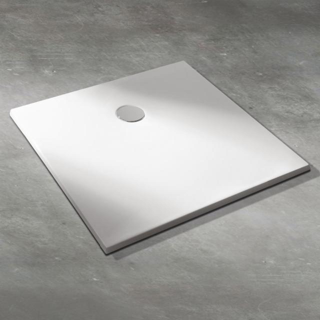 Koralle T400 rectangular shower tray white, with Gelcoat