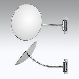 KOH-I-NOOR DISCOLOFLEX wall-mounted beauty mirror, P: 310 mm, with flexible arm, mag. 2x
