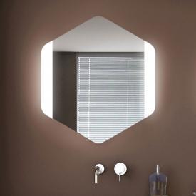 KOH-I-NOOR ESAGONO FRONTALE mirror with LED lighting
