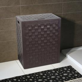 KOH-I-NOOR INTERECCI laundry basket dark brown