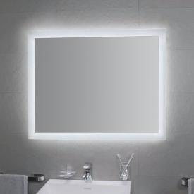 KOH-I-NOOR MATE 4 LED mirror with room lighting aluminium