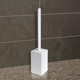 KOH-I-NOOR MATERIA freestanding toilet brush set white